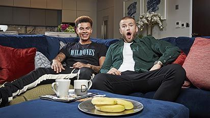 Dele Alli and Eric Dier became close mates at Tottenham and ended up on Gogglebox together