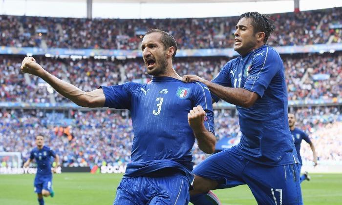 4. Centre back: Giorgio Chiellini (Italy)
