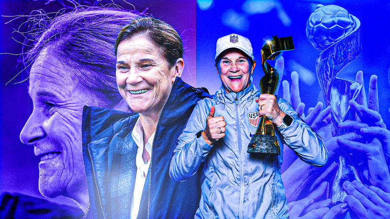 Jill Ellis is a two-time World Cup-winning head coach for the U.S. National Team.